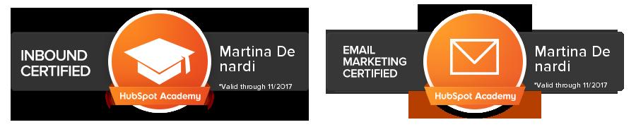 certificazioni hubspot academy