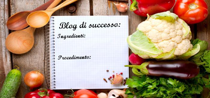 Libro di ricette per un blog di successo