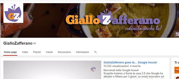 copertina Youtube giallo zafferano