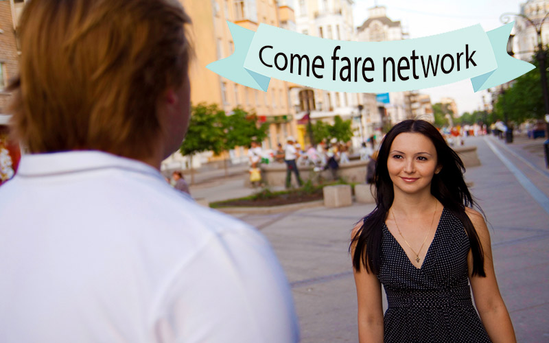 come fare network online