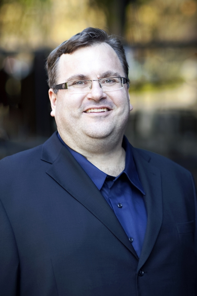 Foto Linkedin di Reid Hoffman