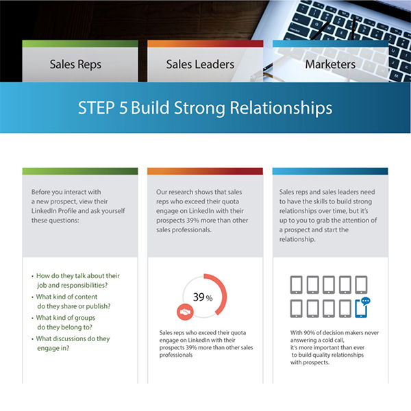 social selling step 5