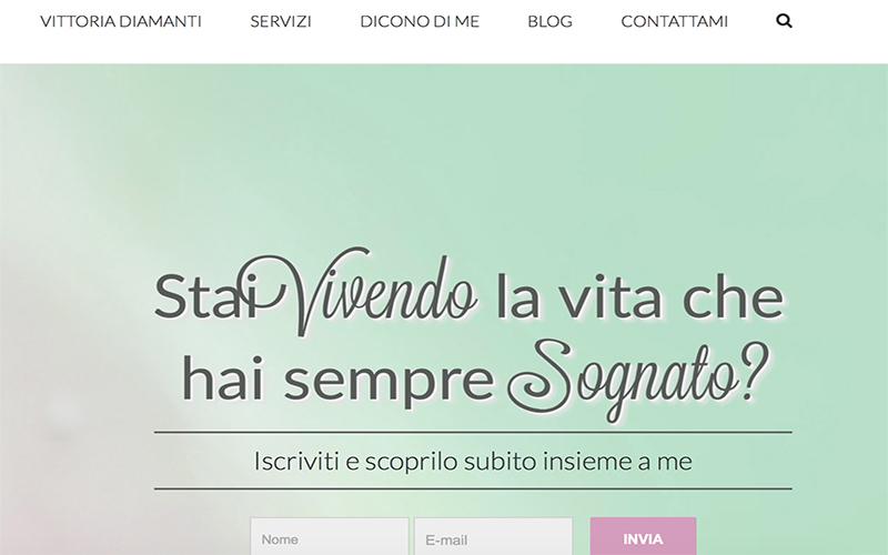Vittoria Diamanti: foto homepage