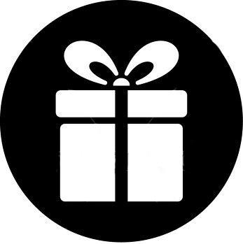 pacco regalo nero