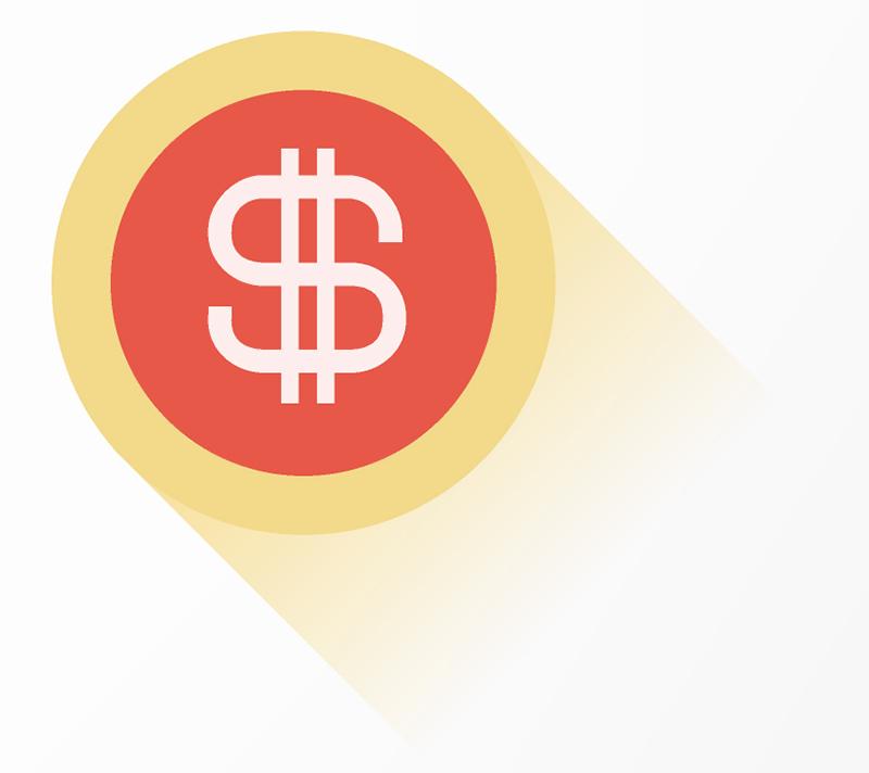 icona dei dollari