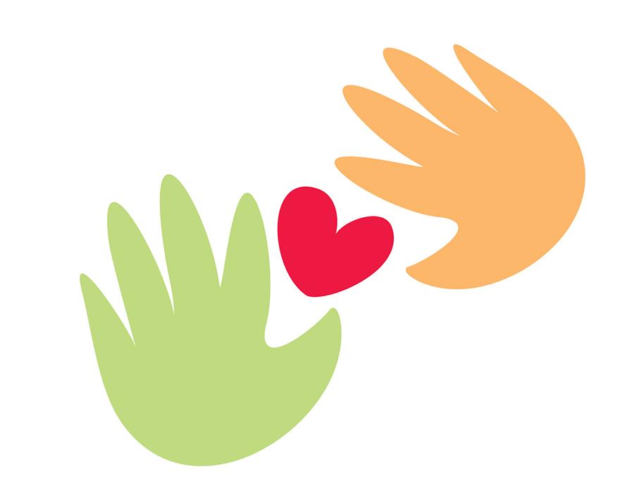icona delle mani