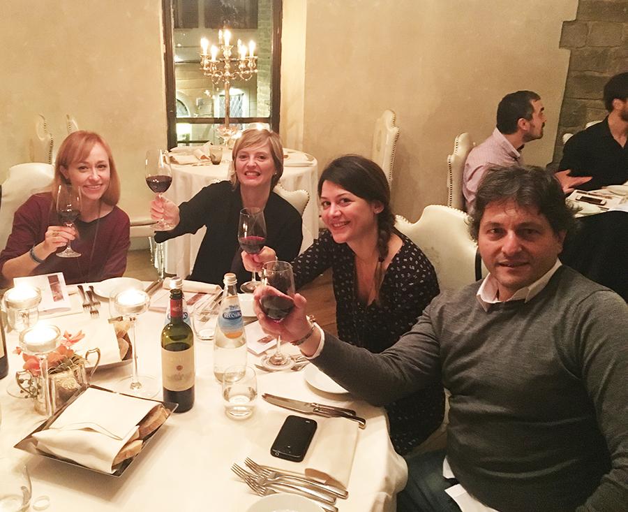 SeoSpirito dinner: hotel brunelleschi