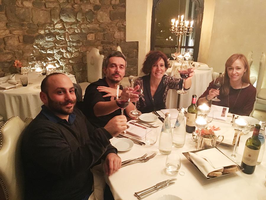 Sospirato Dinner: hotel brunelleschi