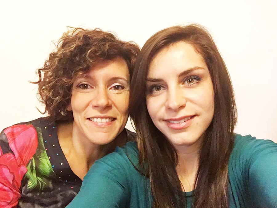 Martina De Nardi e Giulia Bezzi