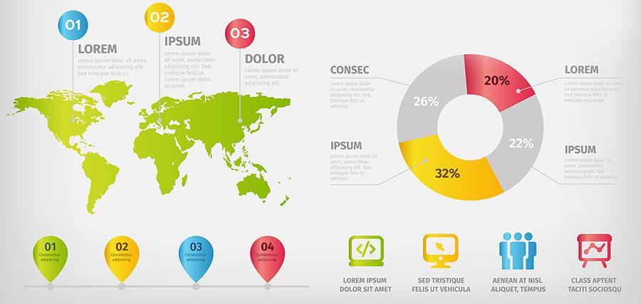 un esempio di infografica