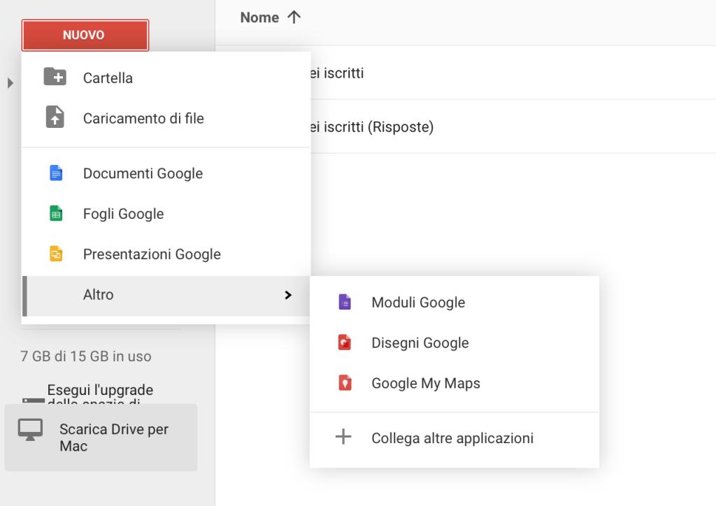 Come creare sondaggi da Google Drive