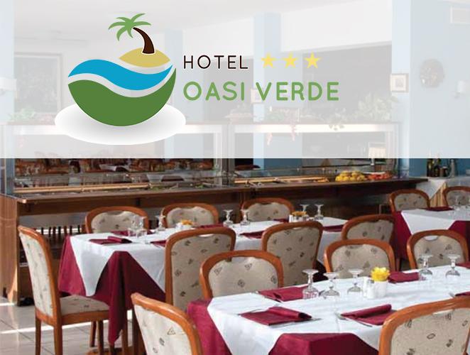 Hotel Oasi Verde: sala da pranzo