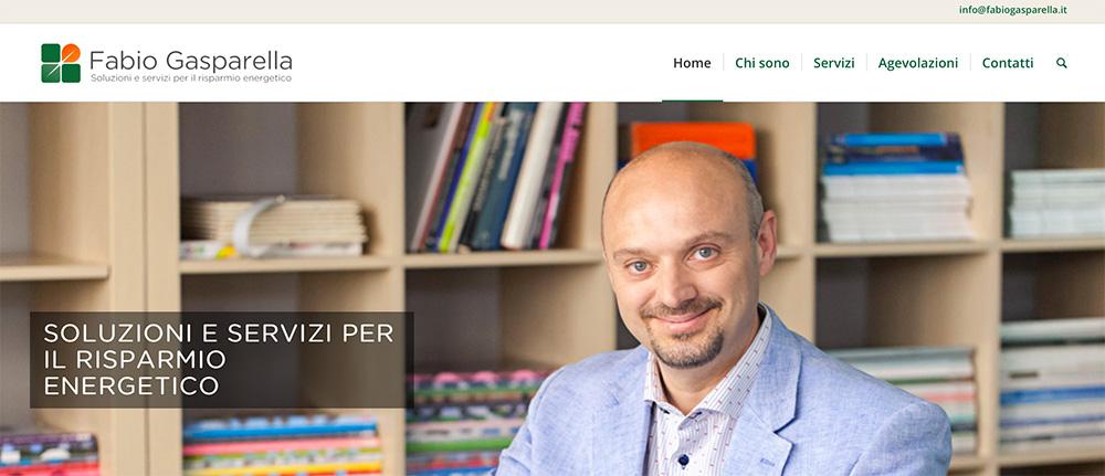 home page di Fabio Gasparella