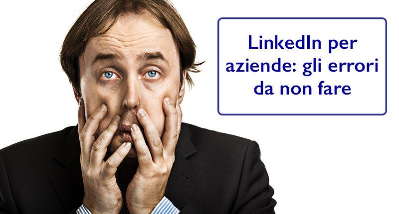 linkedin per aziende