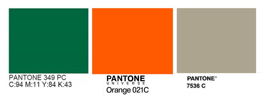 palette colori logo fabio