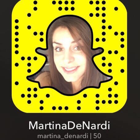 snapcode martina de nardi