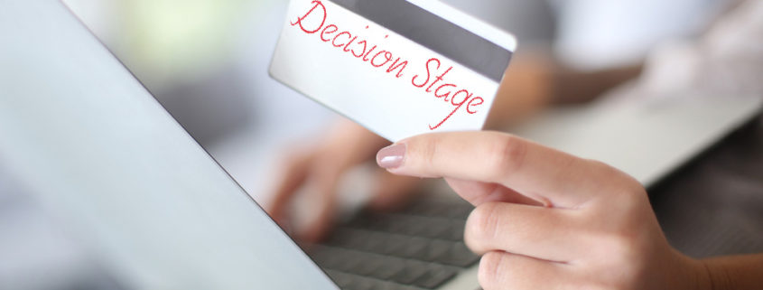 Buyer's Journey: decision stage