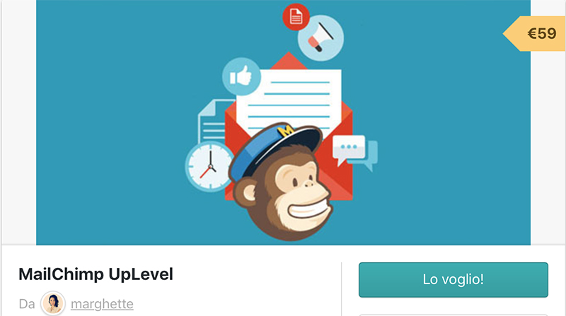 mail chimp up level