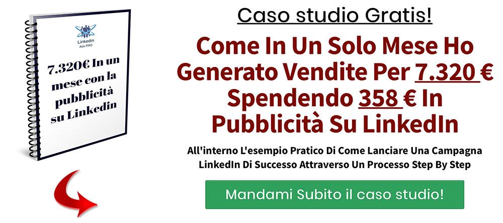 banner per caso studio linkedin ads